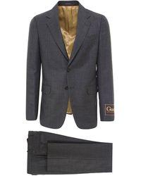 Gucci Maxi Tag Suit - Gray