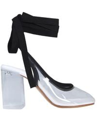MM6 by Maison Martin Margiela Pvc Sock Boots - Black