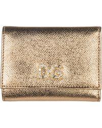 a0363902d5 Dolce & Gabbana Sicily Von Crystal Belt And Wallet in Red - Lyst