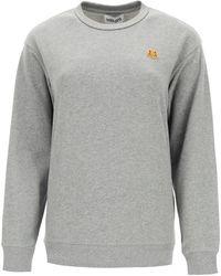 KENZO Sweatshirt With Tiger Patch - Black