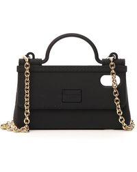 Dolce & Gabbana Iphone X/xs Phonecase Handbag - Black