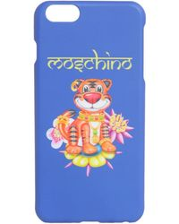 Moschino Tiger Iphone 6 Plus Case - Blue