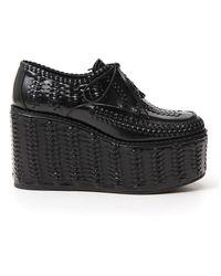 Prada Platform Shoes - Black