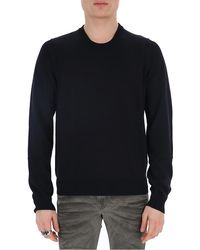 Maison Margiela Crewneck Sweater - Blue