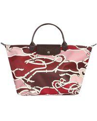 Longchamp - Medium Le Pilage Tote Bag - Lyst