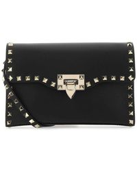 Valentino Garavani Garavani Rockstud Small Crossbody Bag - Black