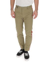 Dolce & Gabbana Slim Tailored Pants - Green