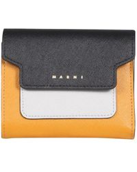 Marni Tri-fold Wallet - Multicolor