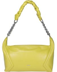 Pinko Hobo Medium Shoulder Bag - Yellow
