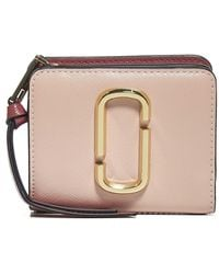 Marc Jacobs The Snapshot Mini Compact Wallet - Pink