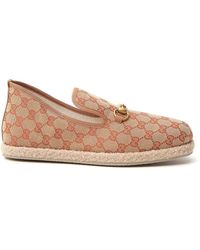 Gucci GG Canvas Loafer - Natural