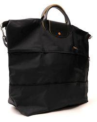 Longchamp Le Pliage Club Travel Bag - Gray