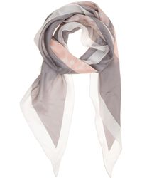 Emporio Armani Silk Foulard Scarf - Multicolour