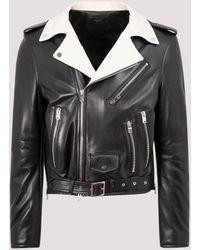 Amiri - Leather Jacket - Lyst