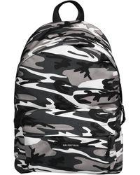 Balenciaga - Explorer Camouflage Print Backpack - Lyst