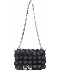 Paco Rabanne - Sequin-embellished Shoulder Bag - Lyst