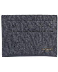 Givenchy 3cc Card Holder - Blue