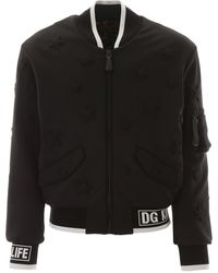 Dolce & Gabbana Star Bomber Jacket - Black