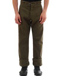 Loewe High-waist Trousers - Green