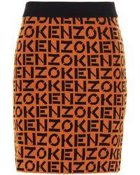 KENZO Other Materials Skirt - Orange