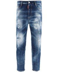 DSquared² Brad Fit Jeans - Blue