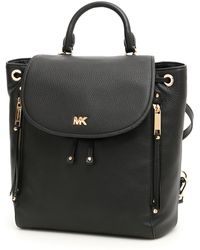 8c9a01007712d Lyst - MICHAEL Michael Kors Wythe Large Backpack in Black