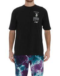 Mauna Kea Logo Print T-shirt - Black