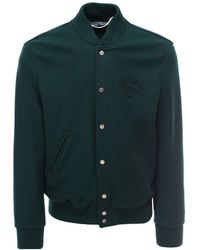 Off-White c/o Virgil Abloh Arrow Varsity Jacket - Green