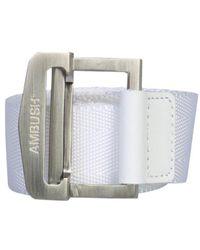 Ambush Buckle Belt - White