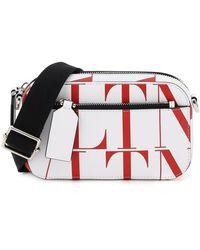 Valentino Vltn Times Small Crossbody Bag - Red