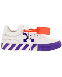 Off-White c/o Virgil Abloh Low Vulcanized Trainers - White