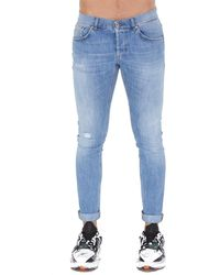Dondup Skinny Fit Jeans - Blue
