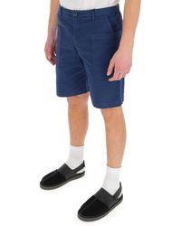 Barena Pocket Detail Bermuda Shorts - Blue