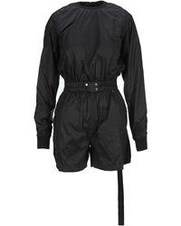 Rick Owens DRKSHDW Banana Belted Playsuit - Black