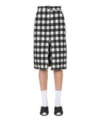 MSGM Midi Skirt - Black