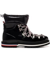 Moncler Inaya Mountain Boots - Black