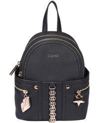 Liu Jo Links Detail Backpack - Black