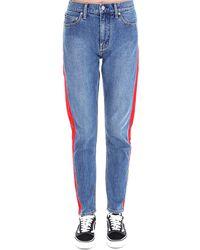 CALVIN KLEIN JEANS EST. 1978 Side Stripe Jeans - Blue