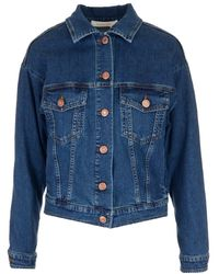 See By Chloé Butterfly Printed Jacket - Blue