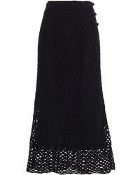 The Row Sitali Skirt - Black