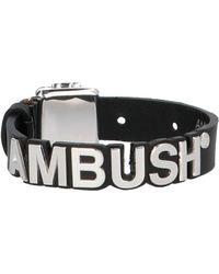 Ambush Logo Bracelet - Black