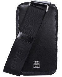 Givenchy Antigona U Vertical Small Crossbody Bag - Black