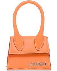 Jacquemus Le Chiquito Micro Tote Bag - Orange
