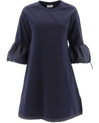 Moncler Flare Sleeve Dress