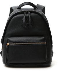 Tory Burch Perry Bombé Small Backpack - Black