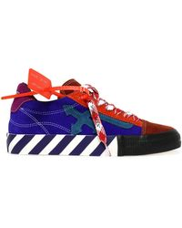Off-White c/o Virgil Abloh Low Vulcanized Sneakers - Red