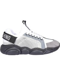 Moschino Teddy Sole Sneakers - White