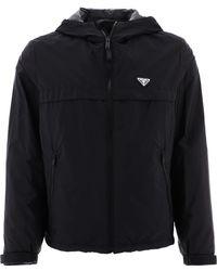 Prada Re-nylon Blouson Jacket - Black