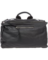 Givenchy Star Printed Messenger Bag - Black