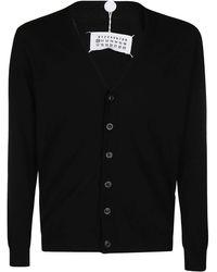 Maison Margiela V-neck Cardigan - Black